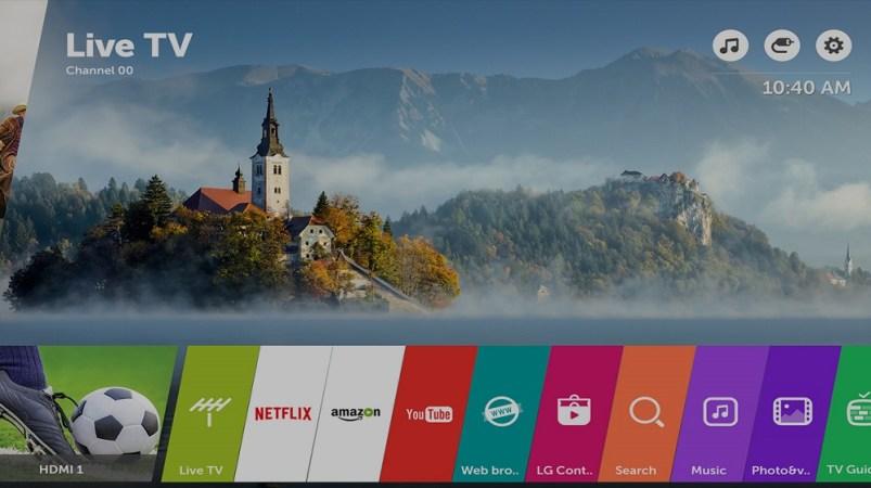 WebOS 3.5 nos permite disfrutar de las funciones inteligentes del televisor