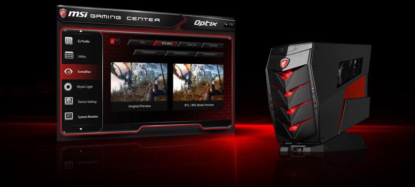 MSI Optix G27C, Gaming Center