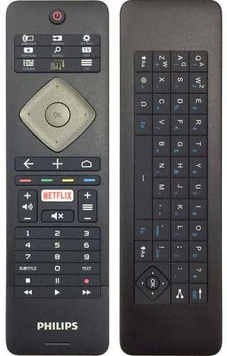 El mando del televisor incluye teclado, un detalle magnífico