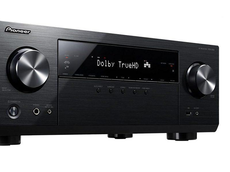 Pioneer VSX-832-B, un equipo de audio para música y cine