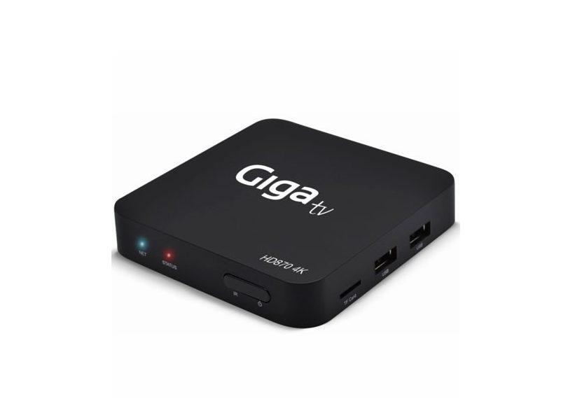 GIGATV HD870, un smart TV box convencional con un poco de todo