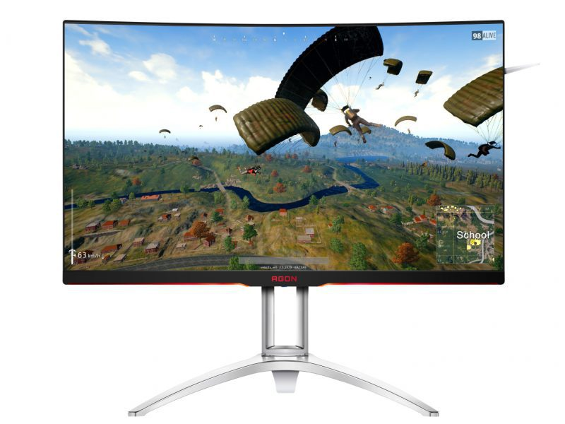 AOC AG322QCX, monitor curvo de gama media con resolución QHD