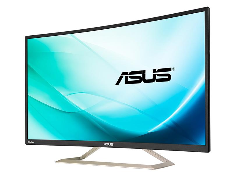 Asus VA326H, un panel curvo gigante para gamers