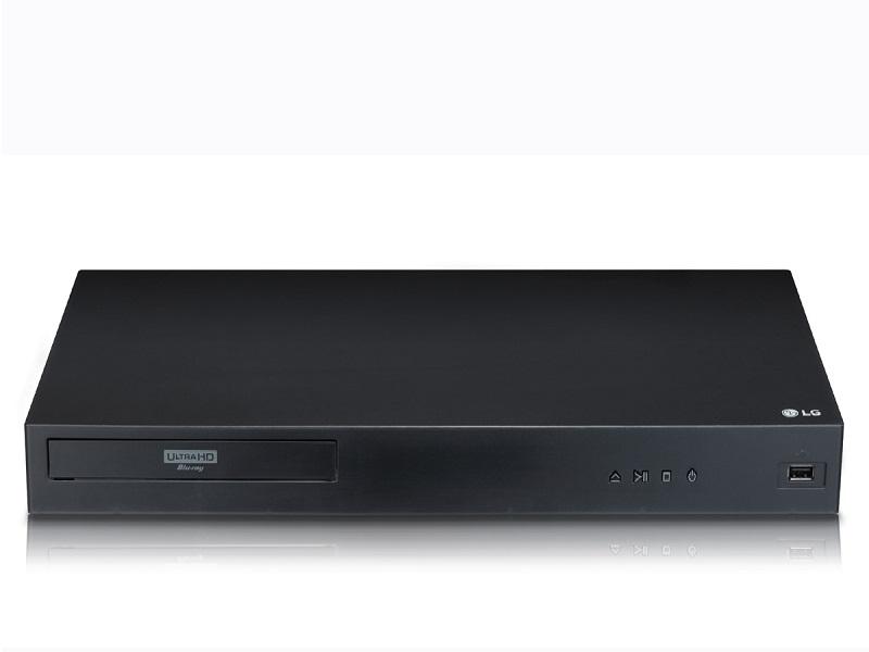 LG UBK80, reproductor Blu-Ray 4K UHD a la vuelta de la esquina