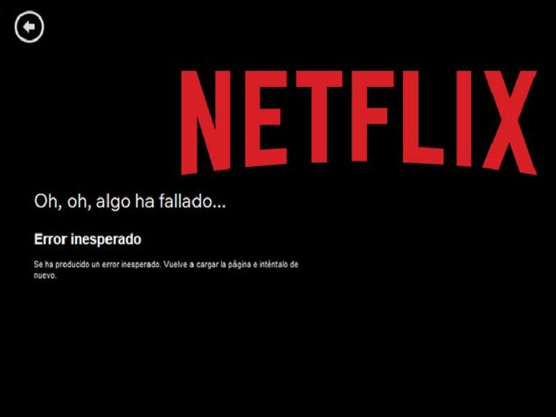 Netflix caído