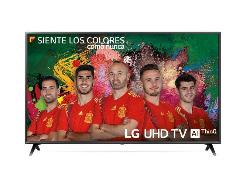 LG 43UK6300PLB, un televisor de gama media inteligente