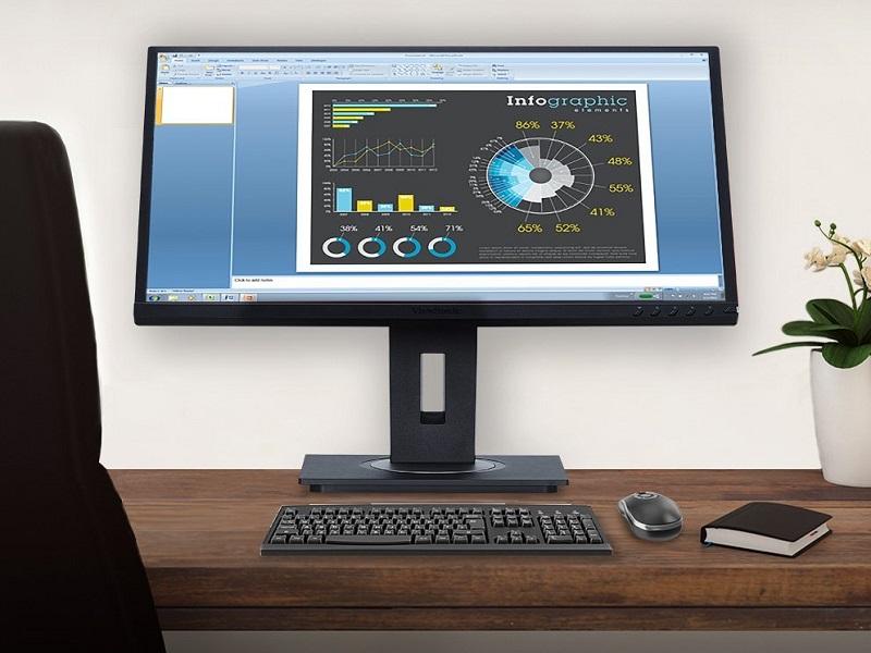 Viewsonic VG2448, un monitor SuperClear IPS de ergonomía avanzada