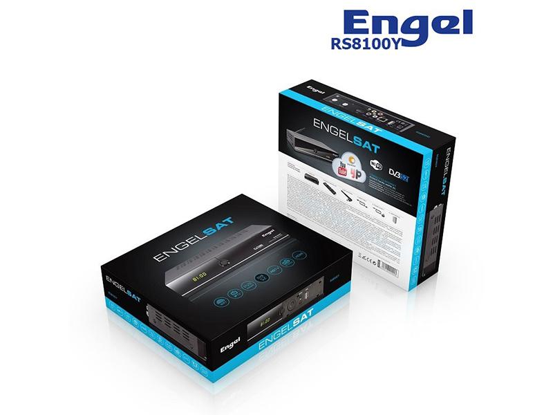 Engel RS8100Y, receptor satélite HD mejorando lo existente