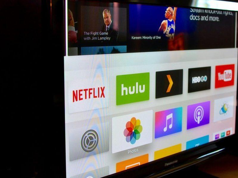 streaming a través de la app TV de Apple