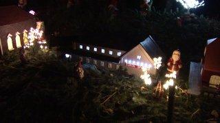 16000 julelys på Ellerupvej