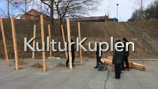 KulturKuplen i Gjern bygges