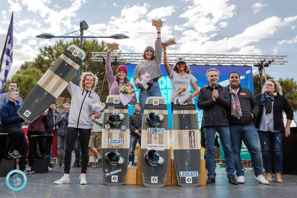 Women's Leucate podium 2019