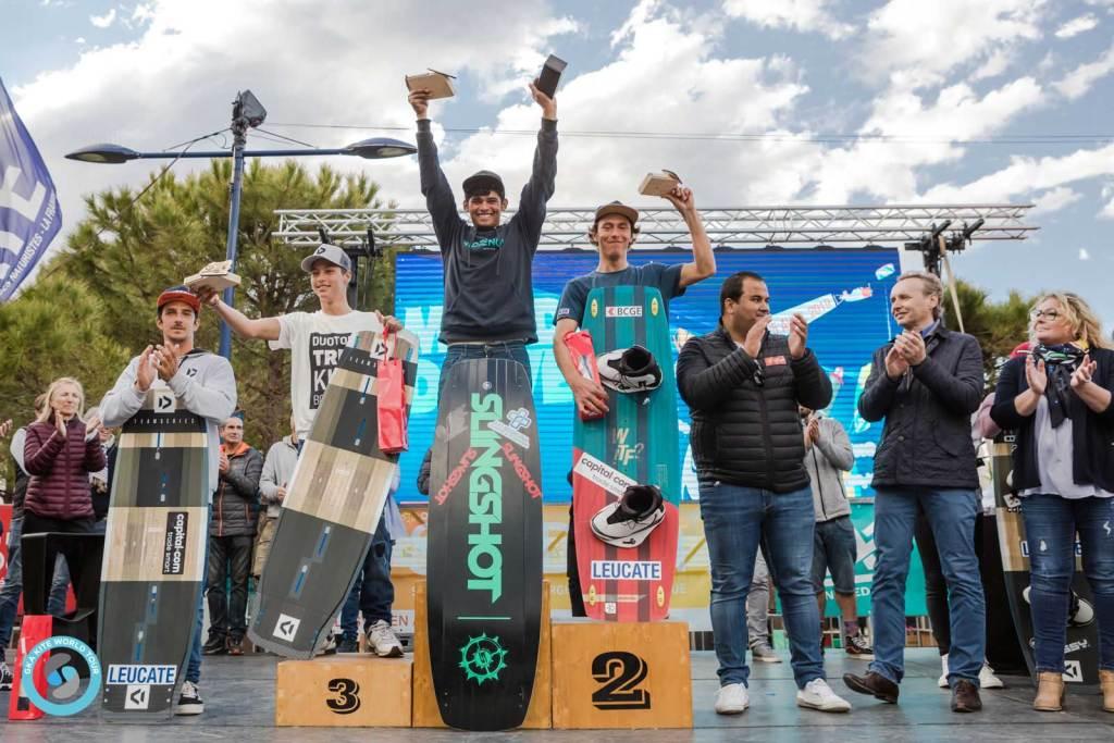 Men's Leucate podium 2019