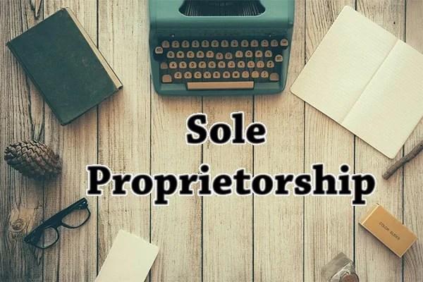 MCQ Questions on Sole Proprietorship