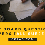 UP board model papers
