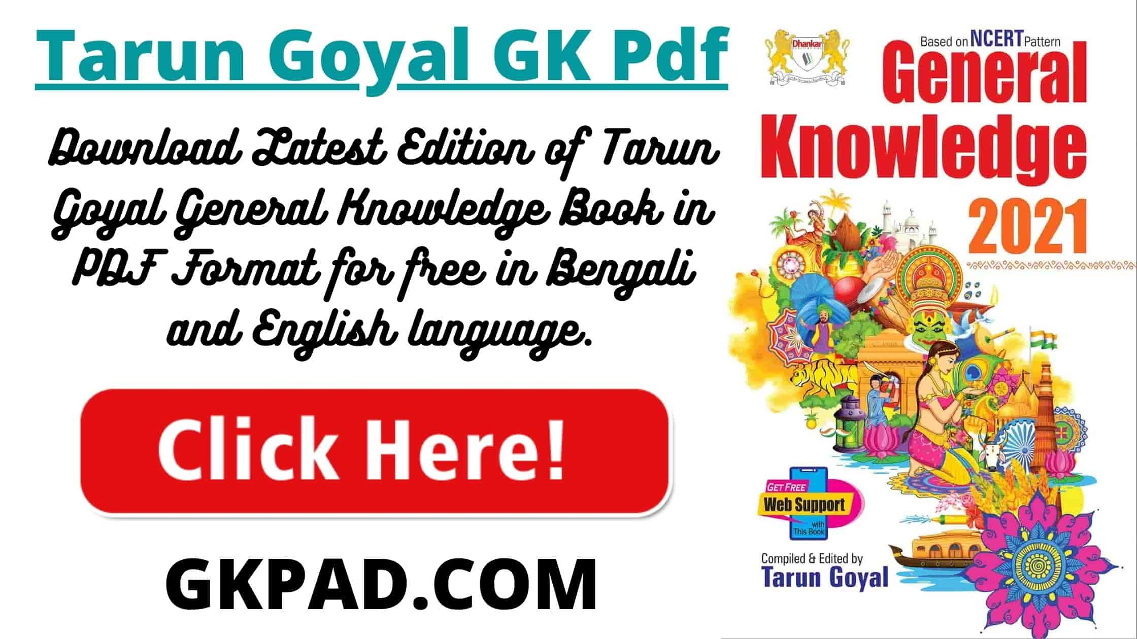 TARUN GOYAL GK 2021 PDF DOWNLOAD