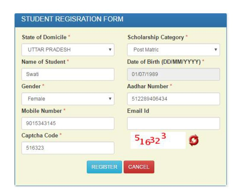 national scholarship login