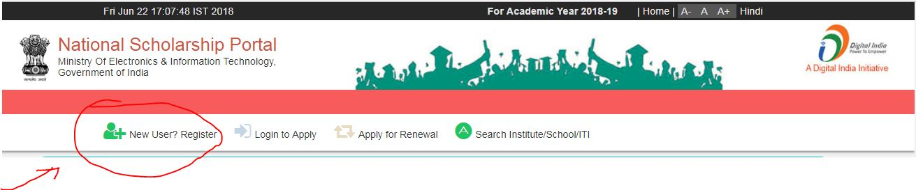 National Scholarship Portal 2018-19 (NSP Login) Last Date Renewal