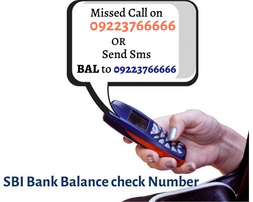 SBI Bank-Balance-check- Number