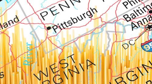 Map of Ohio Valley
