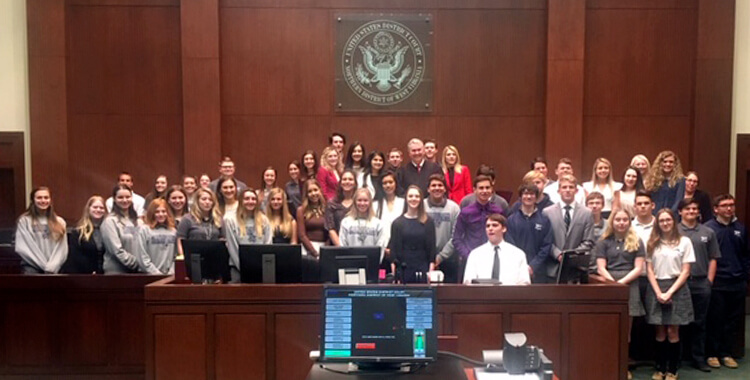 Mock Trial for GKT and Weirton Madonna High School