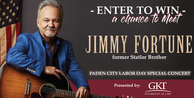 Enter to Win a Chance to Meet Jimmy Fortune