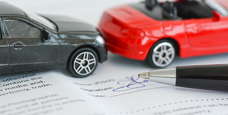 Underinsured Motorist Coverage Paperwork