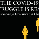 The Covid-19 Struggle is Real. Social Distancing is Necessary but Challenging
