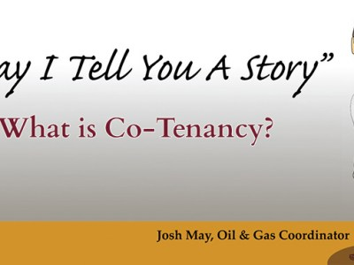 May I Tell You a Story - What is Co-Tenancy?