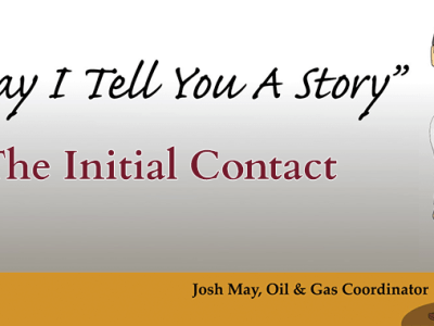 May I Tell You A Story - The Initial Contact by Josh May