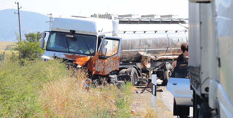 Oil and Gas Truck Accident