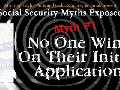 Social Security Myths No One Wins On Their Initial Application