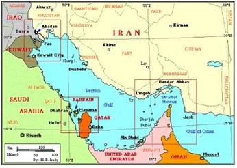 World Oil Transit Choke Points General Knowledge Today