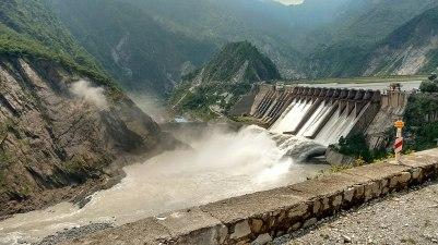 salal dam in chinab river jammu