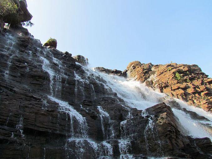 Kanger valley waterfall