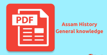 [PDF] download for Assam history general knowledge