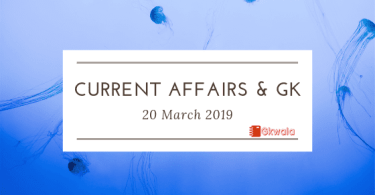 Current Affairs & GK Questions Answer
