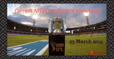 Current Affairs & GK Questions