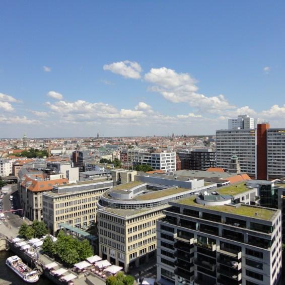 Berlijn gezien vanaf de Dom