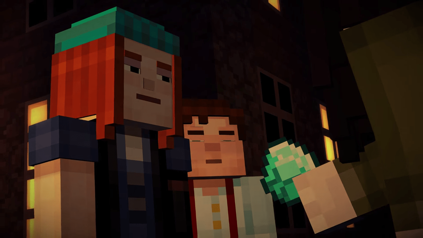 Glacier Gaming Telltales Minecraft Story Mode Gets Its First Trailer