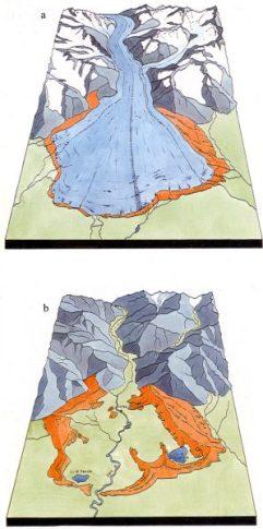 Le glacier de la Baltée et le lobe glaciaire d'Ivréa au Pléistocène moyen