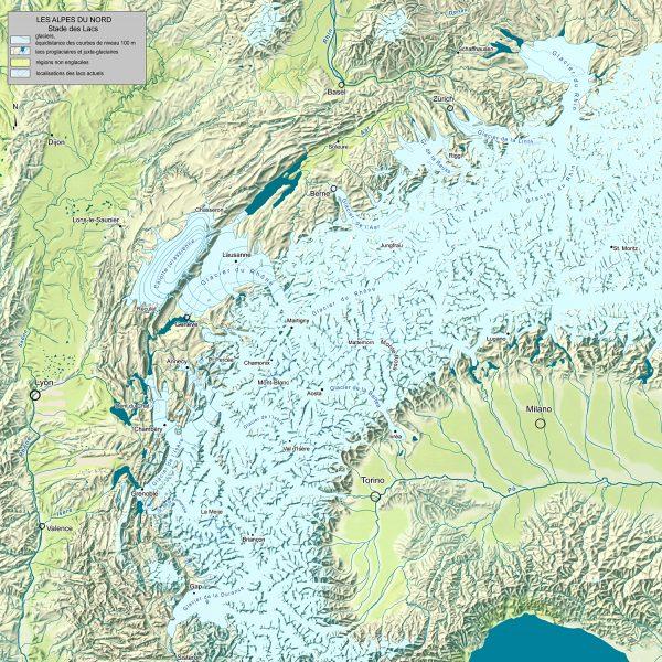 """Les Alpes Nord-occidentales au """"stade des lacs"""""""