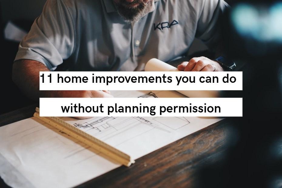 11 home improvements