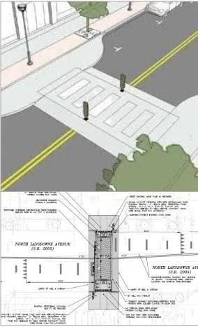 Lansdowne Avenue Crosswalk