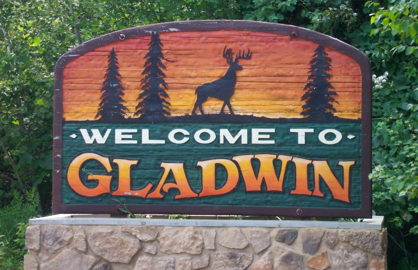 City of Gladwin Sign