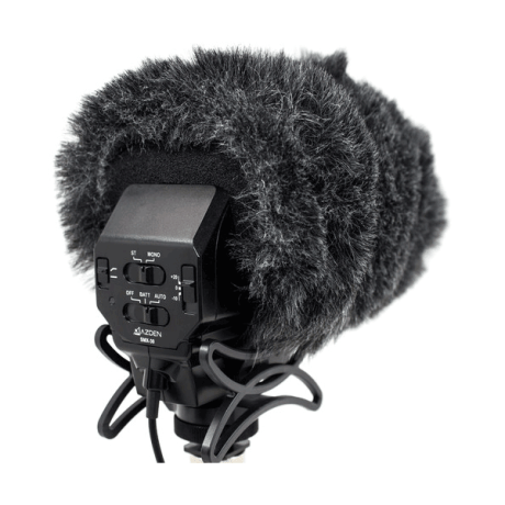Azden SWS-30 Faux Furry Windshield Cover