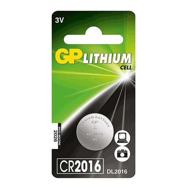 GP Lithium Coin CR2016