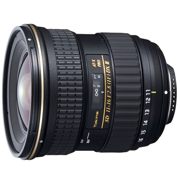 Tokina Lens AT-X 11-16mm F2.8 PRO DX II