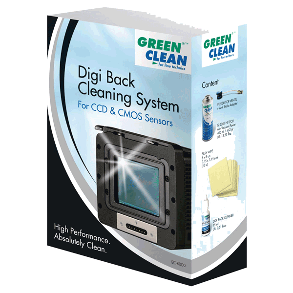 Green Clean Digi Back Cleaning System