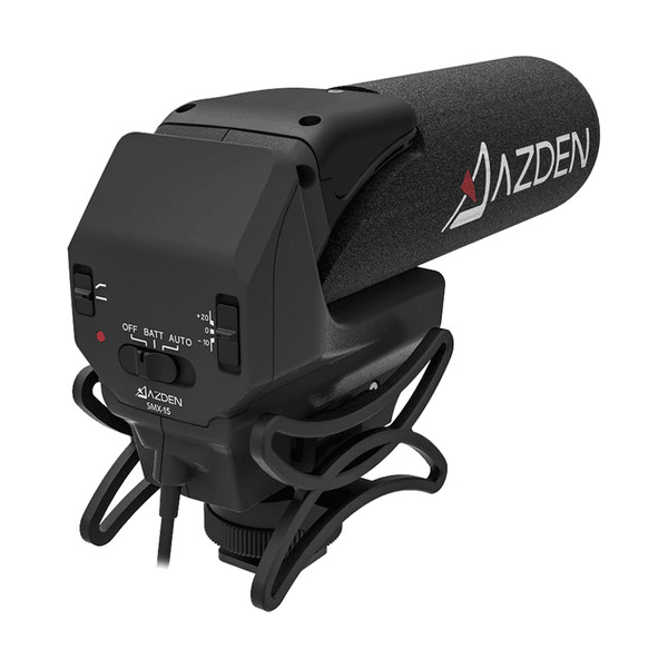 Azden SMX-15 Powered Video Microphone